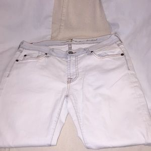 7FOR ALL MANKIND BOOTCUT LIGHT BLUE JEANS